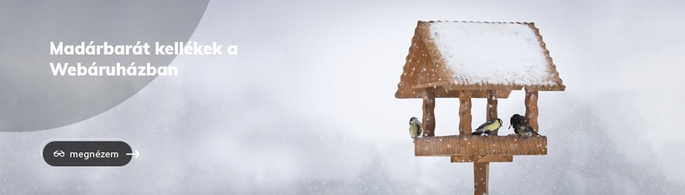 madárbarát kellékek a Webshopban